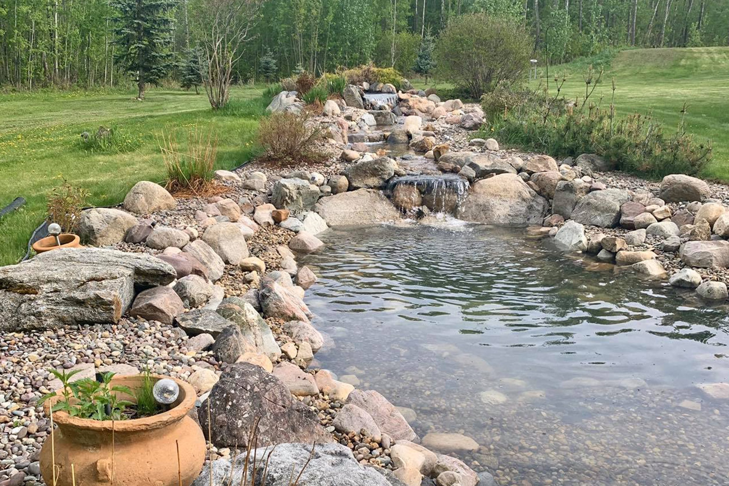 water supply for pond